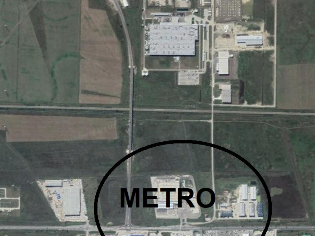 Teren 10200 mp pentru Hala / zona METRO